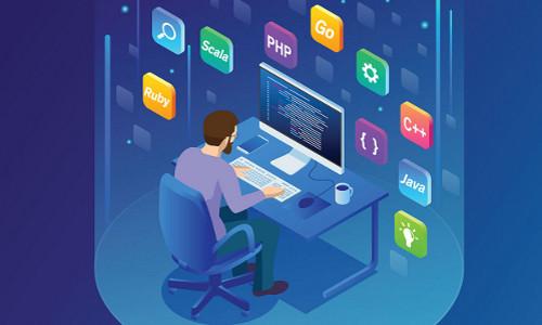 programmer, illustration